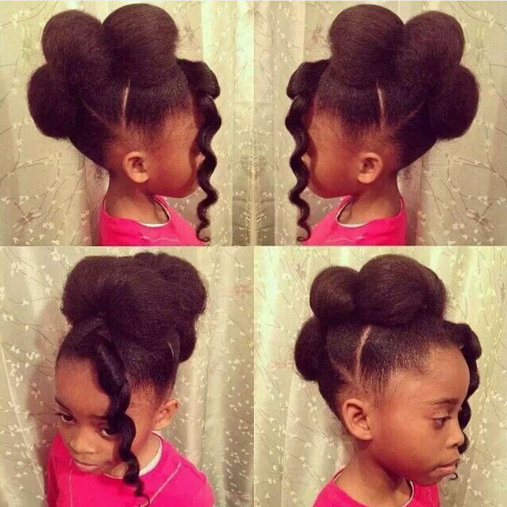 African American Children Hairstyles Braids Or Weaves African