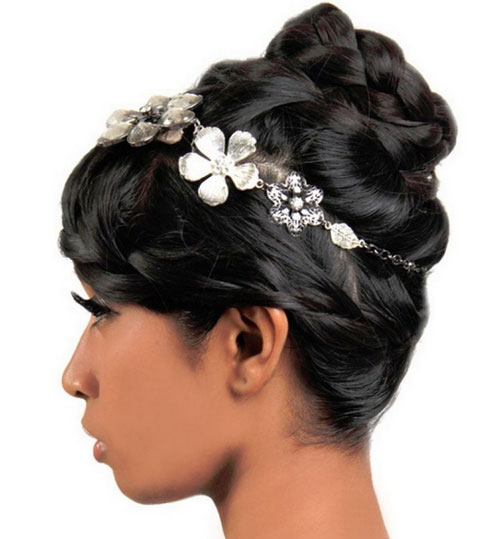 african american bride hairstyles African American Bride Hairstyles african american bride hairstyles 3
