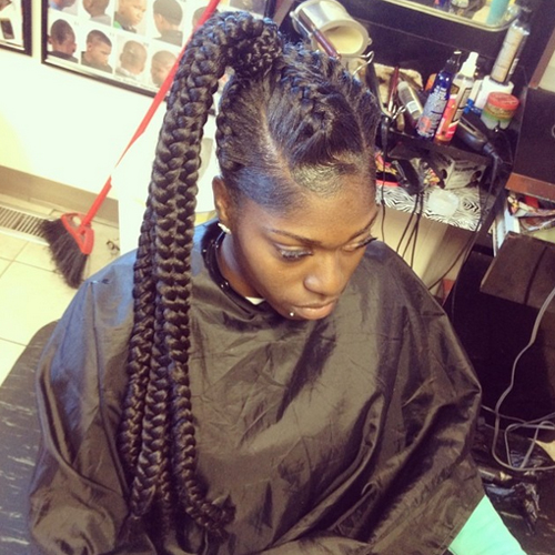african american ponytail hairstyles African American Ponytail Hairstyles african american ponytail hairstyles 1