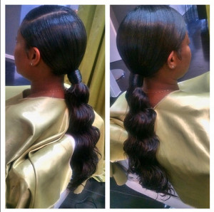 african american ponytail hairstyles African American Ponytail Hairstyles african american ponytail hairstyles 18 300x298