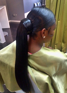 African american ponytail hairstyles 19 african american ponytail hairstyles 19 216x300
