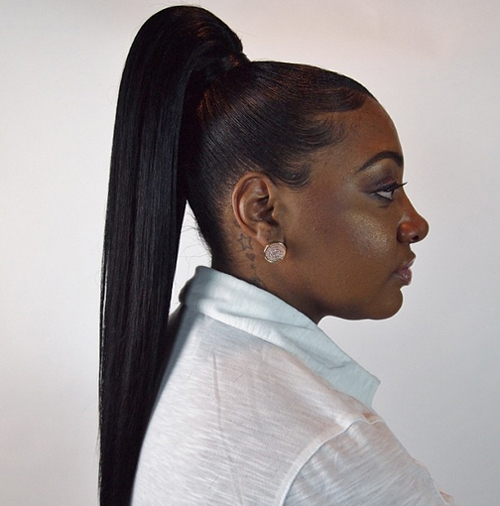 african american ponytail hairstyles African American Ponytail Hairstyles african american ponytail hairstyles 4