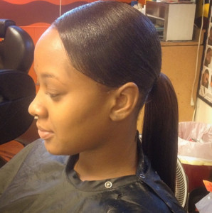 African american ponytail hairstyles 12 african american ponytail hairstyles 5 298x300