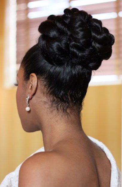 black bridal hairstyles for long hair Black Bridal Hairstyles for Long Hair black bridal hairstyles for long hair 15