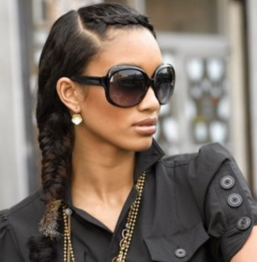braid hairstyles for black women Braid Hairstyles for Black Women braid hairstyles for black women 24