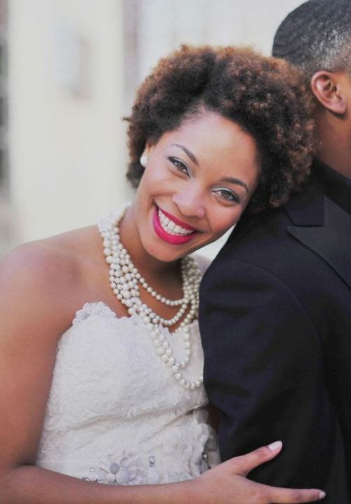 bridal hairstyles for short afro hair 30 Bridal Hairstyles for Short Afro Hair bridal hairstyles for short afro hair 17
