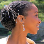 bridal hairstyles for short afro hair 30 Bridal Hairstyles for Short Afro Hair bridal hairstyles for short afro hair 23 150x150