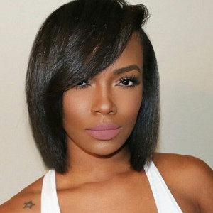 short-black-hairstyles-with-bangs-20 short black hairstyles with bangs 20 300x300