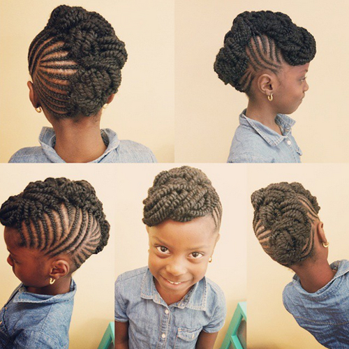 children's braids black hairstyles Trendy Children's Braids Black Hairstyles childrens braids black hairstyles 13