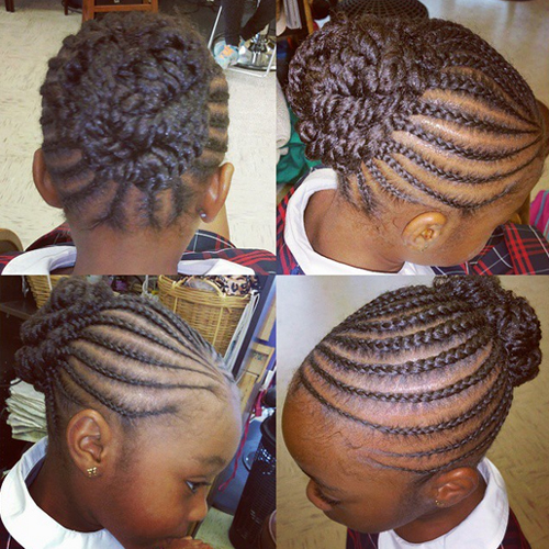 children's braids black hairstyles Trendy Children's Braids Black Hairstyles childrens braids black hairstyles 15