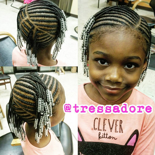 children's braids black hairstyles Trendy Children's Braids Black Hairstyles childrens braids black hairstyles 2