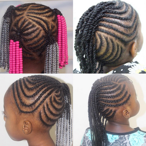 children's braids black hairstyles Trendy Children's Braids Black Hairstyles childrens braids black hairstyles 25