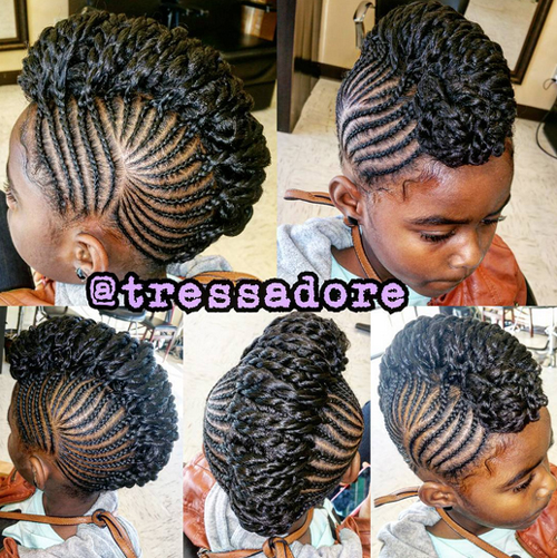 children's braids black hairstyles Trendy Children's Braids Black Hairstyles childrens braids black hairstyles 3