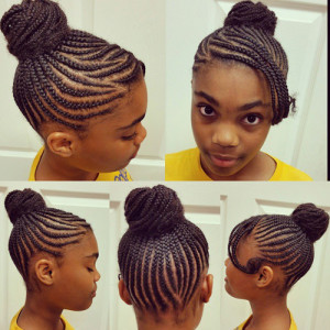 black little girl hairstyles braids 4 childrens braids black hairstyles 8 300x300