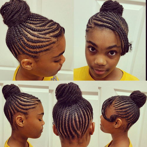 children's braids black hairstyles Trendy Children's Braids Black Hairstyles childrens braids black hairstyles 8