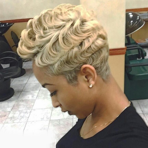 pixie hairstyles for black women The Pixie Hairstyles for Black Women pixie hairstyles for black women 17
