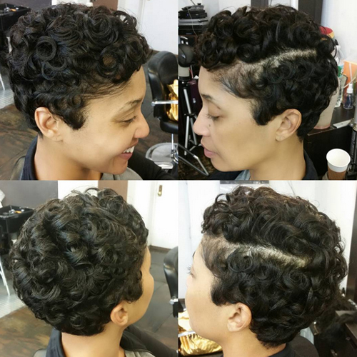 pixie hairstyles for black women The Pixie Hairstyles for Black Women pixie hairstyles for black women 6