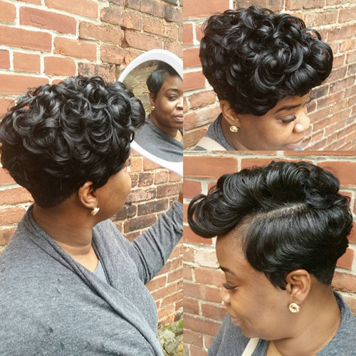 pixie hairstyles for black women The Pixie Hairstyles for Black Women pixie hairstyles for black women 8