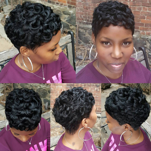pixie hairstyles for black women The Pixie Hairstyles for Black Women pixie hairstyles for black women 9