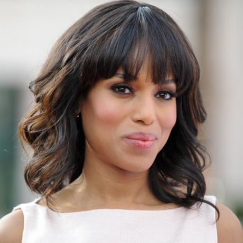 Kerry Washington african american shoulder length hairstyles African American Shoulder Length Hairstyles african american shoulder length hairstyles 6
