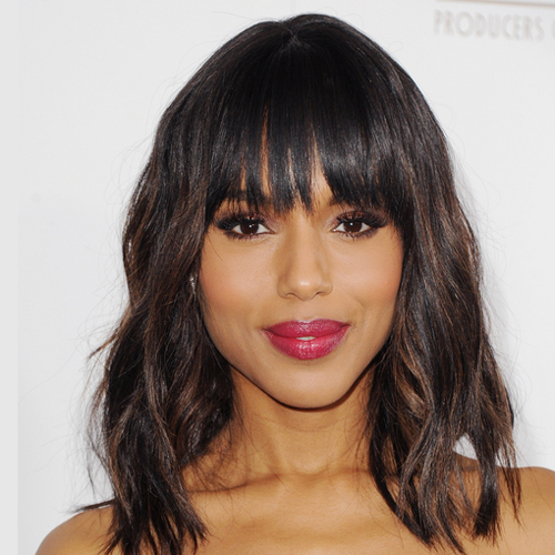 Kerry Washington african american shoulder length hairstyles African American Shoulder Length Hairstyles african american shoulder length hairstyles 7
