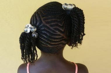 Trendy Children's Braids Black Hairstyles