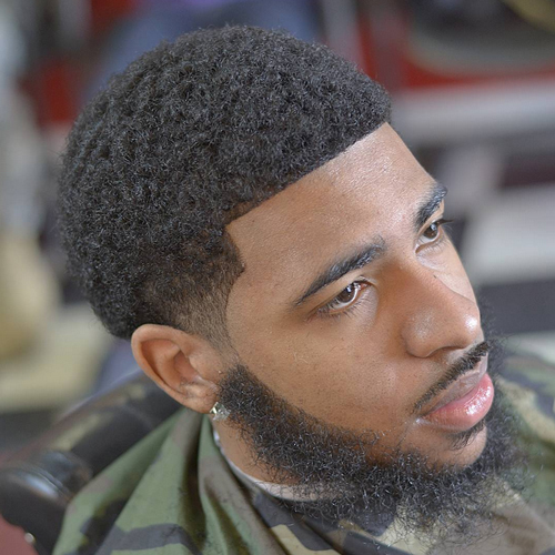 taper fade haircut with beard The Amazing Benefits of a Taper Fade Haircut With Beard and More taper fade haircut with beard 14
