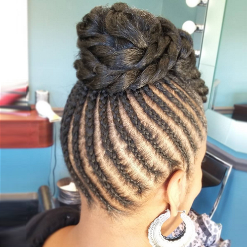 silky flat flat twists hairstyles Flat Twists Hairstyles flat twists hairstyles 19