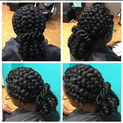flat twists hairstyles Flat Twists Hairstyles flat twists hairstyles 7