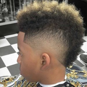 Short Patterned Mohawk black men haircuts 22 300x300