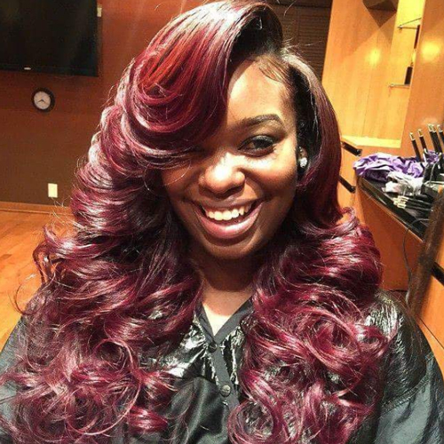 long hairstyles for black women The Long Hairstyles for Black Women long hairstyles for black women 14