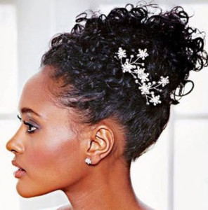 frican American Bride Hairstyles 13 african american bride hairstyles 13 296x300