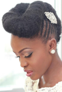 frican American Bride Hairstyles 15 african american bride hairstyles 15 202x300