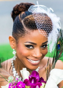 frican American Bride Hairstyles 16 african american bride hairstyles 16 217x300