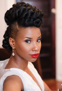 frican American Bride Hairstyles 17 african american bride hairstyles 17 205x300