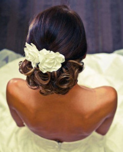 frican American Bride Hairstyles 19 african american bride hairstyles 19 243x300