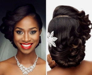 African American Bride Hairstyles 5 african american bride hairstyles 5 300x247