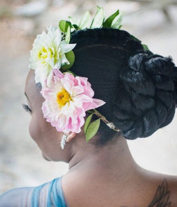 frican American Bride Hairstyles 9 african american bride hairstyles 9 256x300