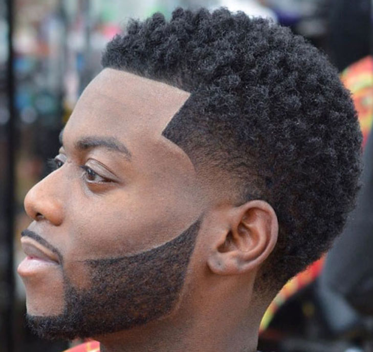 learn how to cut black mens hair