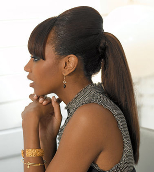 African American Ponytail Hairstyles | African American Hairstyles ...