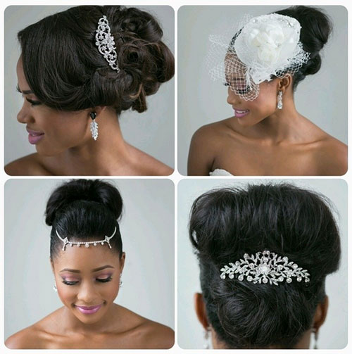 Awesome Black Bridal Hairstyles For Long Hair Hairstyle Inspiration Daily Dogsangcom