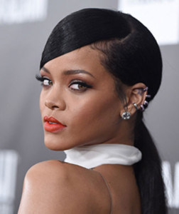 Rihanna black celebrity hairstyles 10 black celebrity hairstyles 10 252x300