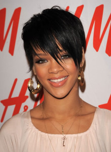 Rihanna black celebrity hairstyles 3 black celebrity hairstyles 3 219x300