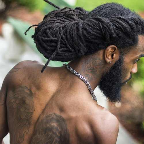 Terrific Black Men Dreadlock Styles 19 African American Hairstyles Trend Hairstyles For Men Maxibearus