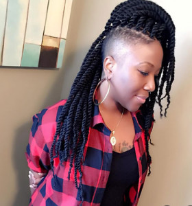 Braid hairstyles for black women 19 braid hairstyles for black women 19 280x300