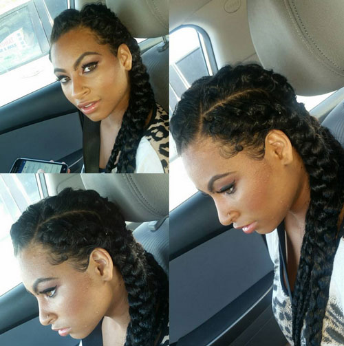 braid hairstyles for black women Braid Hairstyles for Black Women braid hairstyles for black women 22