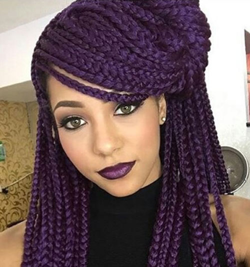 Peachy Two Layer Braids Hairstyles Braids Hairstyle Inspiration Daily Dogsangcom
