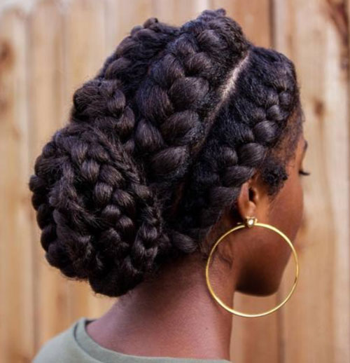 braid hairstyles for black women Braid Hairstyles for Black Women braid hairstyles for black women 8