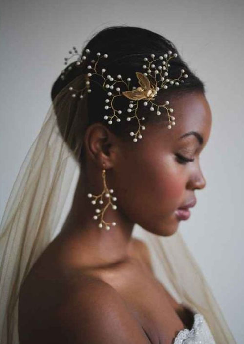 bridal hairstyles for short afro hair 30 Bridal Hairstyles for Short Afro Hair bridal hairstyles for short afro hair 14