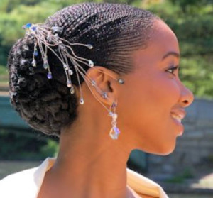 bridal hairstyles for short afro hair 23 bridal hairstyles for short afro hair 23 300x279